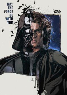 Anakin Skywalker byAykut Aydoğdu