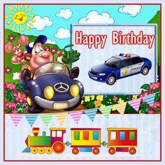 Luigi, Happy Birthday, Disney, Kids, Fictional Characters, Happy Brithday, Young Children, Boys, Urari La Multi Ani