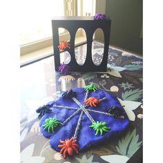Spooky Sparkly Spider Playdough