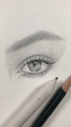 Zeichnen und Handlettering Freehand drawing of the eye by Nadia Coolrista Art Sketches art sketches Coolrista drawing Eye Freehand Handlettering Nadia und Zeichnen Pencil Art Drawings, Realistic Drawings, Art Drawings Sketches, Easy Drawings, Drawing With Pencil, Eye Pencil Sketch, Lips Sketch, Eye Sketch, Anime Sketch