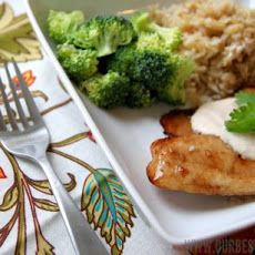 Honey-Ginger Glazed Tilapia-this would be perfect with our Honey Ginger Balsamic!