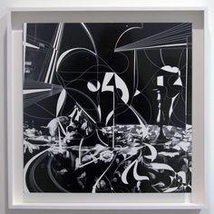 Sebastiaan Bremer, Nature Morte Nu et Tete II. 2015, cut silverprint, 47x47cm