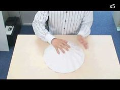 Making of 3D Origami - Origami Sphere (16 flaps) - YouTube  visit   This is how the foldable earth was folded