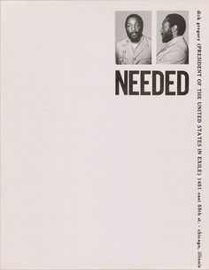 Dick Gregory, 1970 | Source Letterhead used by comedian and activist Dick Gregory in the 1970s.
