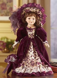 Bristol Victorian Collectible Porcelain Doll