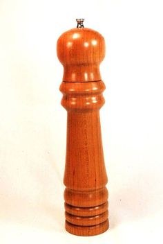 Salt And Pepper Mills, Salt And Pepper Grinders, Spice Grinder, Hardwood, Great Gifts, Cherry, Spices, Steel, How To Make