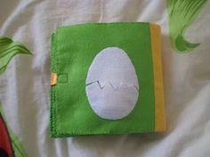 Triinu tuhat toimetust tegelusraamat/ quiet book: egg page