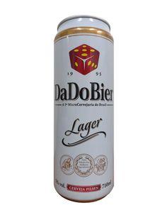 Dado Bier leva cerveja para latão de 710 mililitros - EmbalagemMarca
