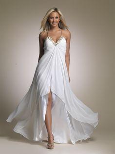 short to long wedding dresses | China Front Short and Long Back Evening Dress (EG179) - large image ...