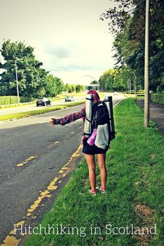 Does hitchhiking in Scotland work? Read more tips about how to hitchhike.