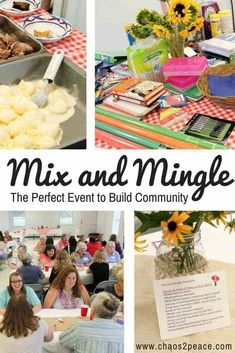 Are you looking for a budget friendly, simple idea or event for the women's ministry at your church that reaches all generations? Mix and Mingle will help build community while getting to know each other. Plan yours today! Games For Ladies Night, Ladies Ideas, Young Adult Ministry, Womans Ministry Ideas, Womens Ministry Events, Church Activities, Group Activities, Group Games, Enrichment Activities