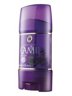 Stick gel cu aromă de lavandă și afine Camil Spa   cod - cami211    24 de ore protector anti-perspirant.  Pentru prospeţime şi confort.    65 g