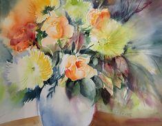 Orange Rosen  Sabine Hilscher