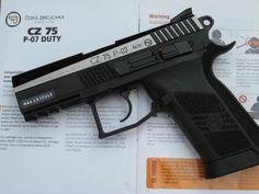 gun wallpapers : Airsoft Gun CZ75