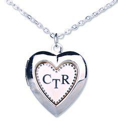 CTR Heart - Silver - Locket Necklaces - CFIP75601 -- Continue @…