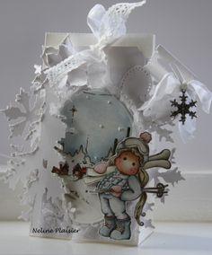 neline's magnolia blog Magnolia Blog, Magnolia Stamps, Snow Globes, Paper Crafts, Christmas Ornaments, Holiday Decor, Magnolias, Cards, Inspiration