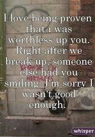 Right after... he made you smile