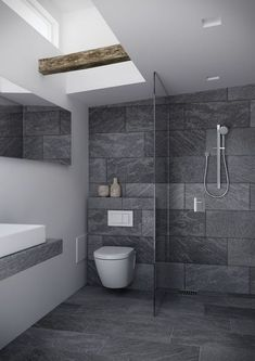 Luxury Bathroom Master Baths Rustic is enormously important for your home. Whether you pick the Luxury Bathroom Master Baths Dark Wood or Dream Master Bathroom Luxury, you will create the best Bathroom Ideas Master Home Decor for your own life. Luxury Master Bathrooms, Bathroom Design Luxury, Modern Bathroom Design, Amazing Bathrooms, Master Baths, Minimal Bathroom, Bathroom Designs, Small Grey Bathrooms, Master Master
