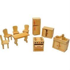 Dolls House Furniture - Kitchen Set by Drei Blatter