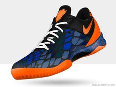 best service 74d7b 05fbe Nike Kobe 8 Year of the Snake Total Orange Blue White New Basketball Shoes,  Nike