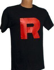Team Rocket R Novelty Symbol Graphics Adult Tank Top