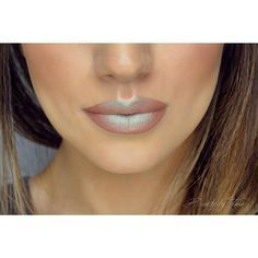 Nyx High Voltage Lipstick in Stone and Prismatic Shadow in Mermaid. #lips