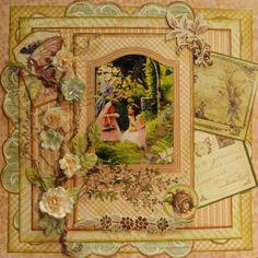 Garden Fairies  ~~My Creative Scrapbook~~  **GRAPHIC 45** - Scrapbook.com