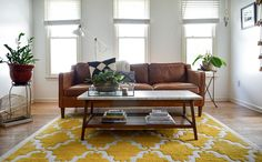 Check out this colorful bohemian South Carolina Family Home on the west elm blog!