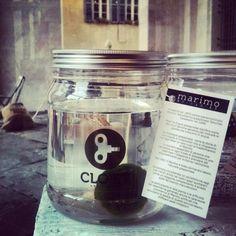 Marimo by Clo & # 8217; eT!  Piazza Vecchia # Marimo #marimobycloet