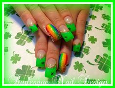 End of the Rainbow <3 by burlesquenails - Nail Art Gallery nailartgallery.nailsmag.com by Nails Magazine www.nailsmag.com #nailart