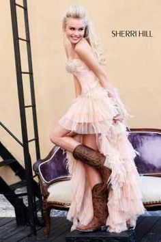 Cowboy boots with dress