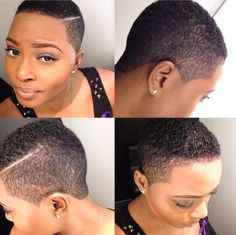 Faded Haircuts For Black Women Google Search Women Fades