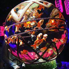 手毬金魚。 魅せ方が綺麗。 #アートアクアリウム  #日本橋三井ホール