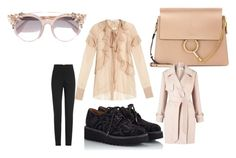 """""""2c"""" by mishaart ❤ liked on Polyvore featuring Givenchy, Pons Quintana, Chloé, Alexander McQueen, Jimmy Choo and Miss Selfridge"""