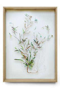 Anne Ten Donkelaar, Flower construction #49 (w:50 h:70 d:6.5 cm)