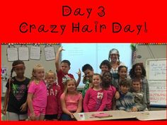 Smart Board lessons and more.....: Day 3 Crazy Hair!