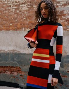 Colour blocking pro's at @proenzaschouler SS17 📷 photography by @thurstanredding on LOVE http://thelovemagazine.co.uk/posts/6977/proenza-schouler-ss17