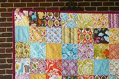 Central Park Quilt Front Corner by Fresh Lemons : Faith, via Flickr