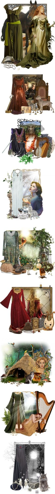 """""""The World of Celts"""" by pusja76 ❤ liked on Polyvore"""
