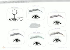 You need to learn how to effectively shape your brows. | Everything You Ever Needed To Know About Doing Your Eyebrows