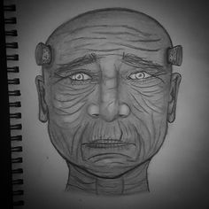 I drink for friends #darkart #oldman #portrait #alcoholic #lonliness #art #sketch