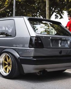 Volkswagen Golf Mk1, Vw Mk1, Golf 2, Vw Cars, Golf Humor, Modified Cars, Classic Cars, Cannon, Car Stuff