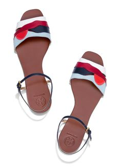 c8041459904b15 Tory Burch Miro Flat Sandal  ToryBurchPreFall16 Top Shoes