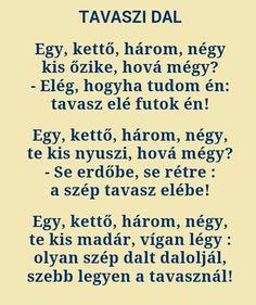 Zelk Zoltán: Tavasz dal