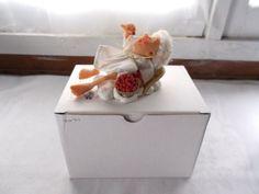 Richard Simmons Reminder Angel Goebel Figurine Life Is A Bowl Of Cherries