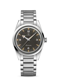 Omega Railmaster Co-Axial Master Chronometer 38 mm 1957 Trilogy Omega Railmaster, Omega Aqua Terra, Omega Seamaster Diver 300m, Omega Speedmaster, Seamaster Watch, Cool Watches, Watches For Men, Omega Co Axial, Style Simple