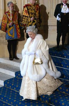 Take a look back at some of the best fashion ensembles from Britain's longest-ruling monarch.