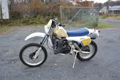 1984 Husqvarna 400WR,sat for a few years , just as I got it..