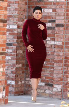 Mimi g red dress outfit