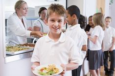 Nearly 24 percent of school lunch waste is uneaten food. Longer lunch periods, fewer vending machines and more appealing healthy foods can help.